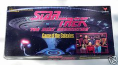Star Trek The Next Generation Game of the Galaxies.