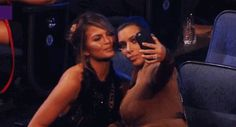 Pin for Later: Everything About Kim Kardashian and Chrissy Teigen's Selfie Went Hilariously Wrong Kim Headbutted Chrissy By Accident