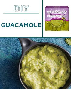 Fresh homemade guacamole is way better than the shrink-wrapped stuff.