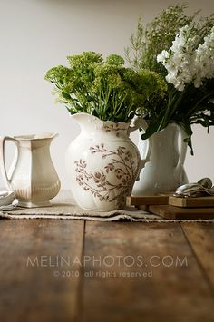 Rustic Pitchers