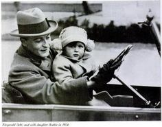F Scott and Scottie Fitzgerald - 1924 - The Riviera, France - Photo published: Life Magazine in 1964 - @~ Watsonette