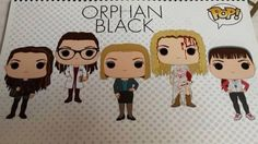 Orphan Black Funko Pops