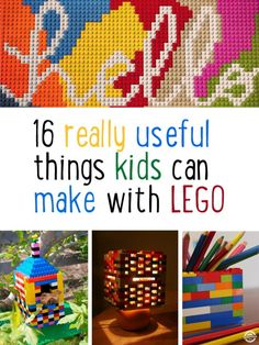 16 useful things that kids can make with LEGO - Kidspot