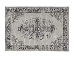 vloerkleed Amelia, grijs, 160 x 230 cm
