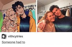 kristin stokes and chris mccarrell as annabeth and percy in the lightning thief musical :) Percy Jackson Musical, Percy Jackson Books, Percy Jackson Fandom, Rick Riordan Series, Rick Riordan Books, The Lightning Thief Musical, Team Leo, Trials Of Apollo, Annabeth Chase