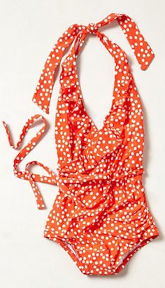 adorable polka dot swimsuit http://rstyle.me/~1Ok2f