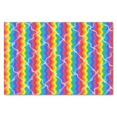Cracked Rainbow Tissue Paper
