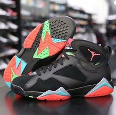 air jordan retro 7s marvin the martian coloring