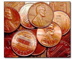 Beginning in 1959, the reverse side of the Lincoln Cent featured the Lincoln Memorial building, which was dedicated in 1922.