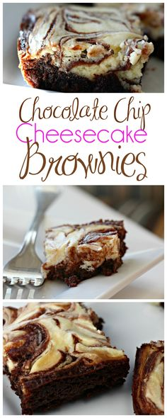 Chocolate Chip Cheesecake Brownies Recipe - (carissashaw)
