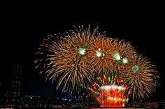 여의도 세계불꽃 축제.