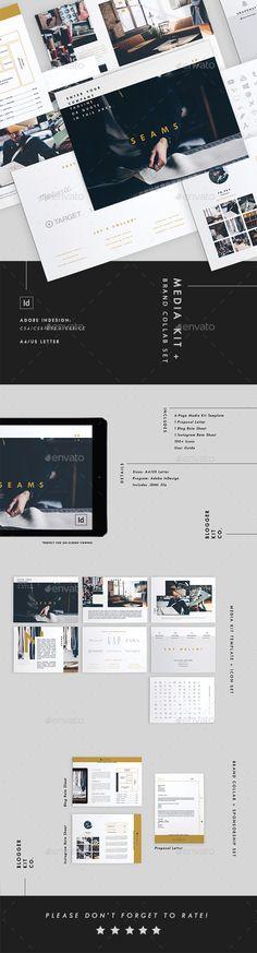 Media Kit Template + Brand Collab Set