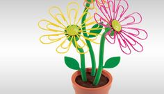 Desk Daisy to keep paper clips handy