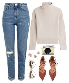 """""""Oh we're in love, aren't we?"""" by winterlilac12 ❤ liked on Polyvore featuring Topshop, Vanessa Seward, Retrò and Tom Ford"""