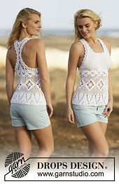 Ravelry: 162-1 Aphrodite pattern by DROPS design... Free crochet pattern!