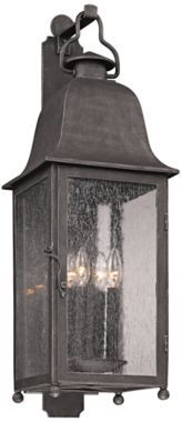 Larchmont Aged Pewter Outdoor Wall Light