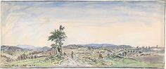 Johan Barthold Jongkind Landscape 1834-91. Gift of Adelaide Milton DeGoot, 1967. Accession number 20.Jongkind Dealer's stamp on verso of old backing: Jacques RODRIGUES / 1929 / 20, Rue Bonaparte. PARIS