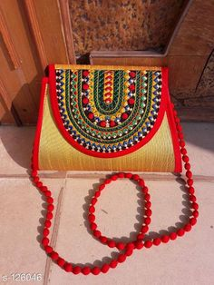 Checkout this latest Slingbags Product Name: *Stylish Silk Sling Bag* Sizes:Free Size Country of Origin: India Easy Returns Available In Case Of Any Issue   Catalog Rating: ★4.2 (225)  Catalog Name: Kutchian Silk Slings Vol 9 CatalogID_12407 C73-SC1075 Code: 503-126046-285
