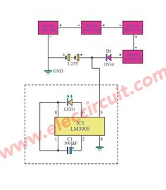 2 Light Detector Circuits using IC-555 and C3140   Pinterest ...