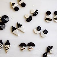 ceramic clay earrings| κεραμικά σκουλαρίκια