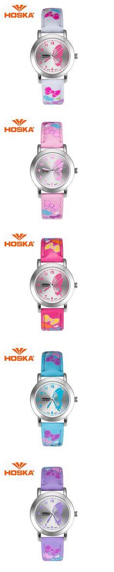 HOSKA Children Quartz Watch Lady Sports Watches Fashion Casual Ladies Wristwatches Jelly Kids Clock girls Students Wrist watches