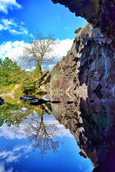 Rydal Caves, Rydal Water, Lake District