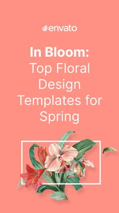 Spring has sprung in the Northern Hemisphere, which means that floral designs are out in force. So why not put a spring in your step and check out our huge selection of #floral designs, art and templates on @envato Elements: