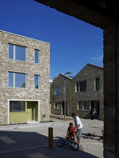 terraced housing 'mews' - Anne Mews, Barking, London - AHMM + Mccreanor Lavington