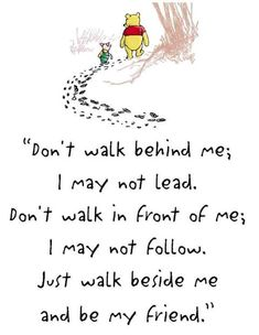 friends quotes & We choose the most beautiful Winnie the Pooh quotes to guide you through life for you.Winnie the Pooh quotes most beautiful quotes ideas Cute Friendship Quotes, Cute Quotes, Great Quotes, Quotes To Live By, Inspirational Quotes, Motivational Quotes, Friend Friendship, Top Quotes, Daily Quotes