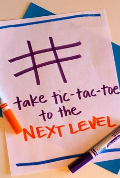 Take Tic-Tac-Toe to the next level with this fun learning activity in our Raise a Reader blog.