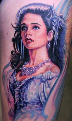 Labyrinth Tattoo on Kelly Eden. Artist: Nikko Hurtado