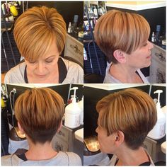 21914 | by short hairstyles and makeovers