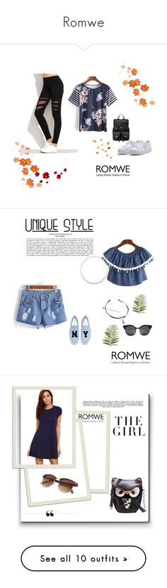 """Romwe"" by zerina913 ❤ liked on Polyvore featuring romwe, Pier 1 Imports, Whiteley, Kershaw, Pussycat, Avon, Cyan Design and Kenzie"