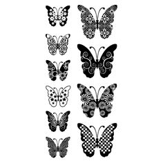 Inkadinkado® | Patterned Butterflies