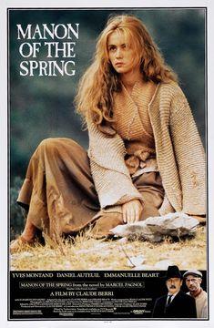 Manon des sources (1986) Cinematography by Bruno Nuytten- Costume Design by Sylvie Gautrelet - Directed by Claude Berri - Music by Jean-Claude Petit - Production Design by Bernard Vézat (1635×2500)