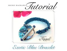 Pandora Style Micro-Macrame TUTORIAL with VIDEO  note: another pic of same bracelet where u can c the clasp.