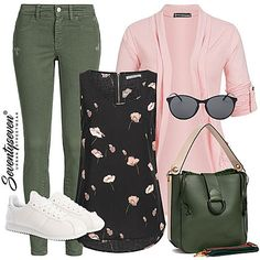 Outfit 10166 - - Lilly is Love Casual Outfits Summer Classy, Modest Summer Outfits, Summer Fashion Outfits, Summer Outfits Women, Dressy Jeans Outfit, Urban Outfitters Clothes, Mode Outfits, School Outfits, Clothing Blogs