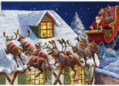 Santa's Coming 500 Piece Wooden Jigsaw Puzzle