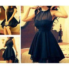 Mesh front Cute Slim Dress for Women