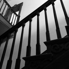 Staircase inside Liberty Hall.