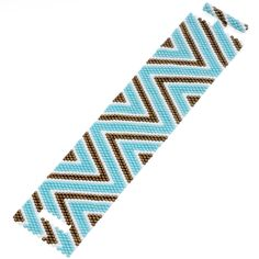Tutorial - How to: Turquoise Zig Zag Peyote Bracelet | Beadaholique