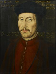 John Howard, 1st Duke of Norfolk, Great Grandfather of Anne Boleyn and Katheryn Howard