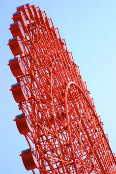 Red Ferris Wheel-scared to death of this thing. I am so afraid of heights. You couldn't pay me a million dollars to ride it! Fred Instagram, I See Red, Simply Red, Red Aesthetic, Shades Of Red, Ruby Red, My Favorite Color, All The Colors, Color Inspiration