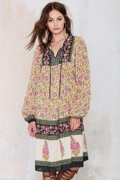 Vintage Zurna Floral Dress