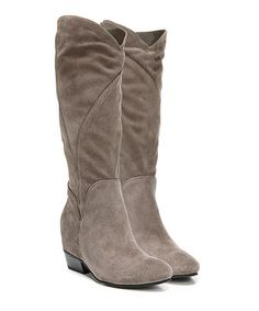 Look what I found on #zulily! Taupe Fjord Suede Boot #zulilyfinds