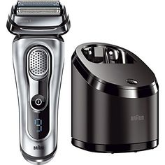 Braun Series 9 9090cc Electric Foil Shaver for Men with Cleaning Center Electric Mens Razor Razors Shavers Cordless Shaving System