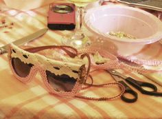 Pastel themed Pimp Up Your Shades Workshop  - Hen Party at Drink Shop & Do