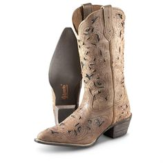 Women's Laredo® Miranda Boots, Tan / Crazy Horse