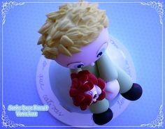 Pequeno Príncipe e a rosa | by Sonho Doce Biscuit *Vania.Luzz*