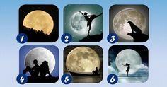 Observa las diferentes imágenes de lunas, elige la que te resulte más atractiva y descubre el mensaje que tiene para ti.
